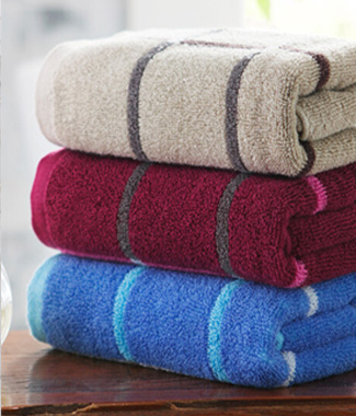 DK2003纯棉格子毛巾